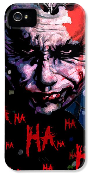 Joker IPhone 5s Case by Jeremy Scott