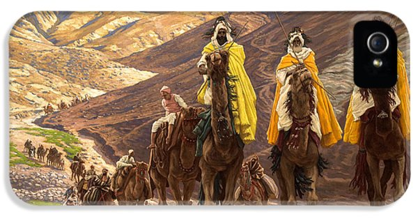 Journey Of The Magi IPhone 5s Case by Tissot