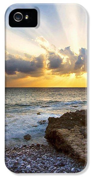 Kaena Point State Park Sunset 2 - Oahu Hawaii IPhone 5s Case