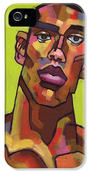 Portraits iPhone 5s Case - Killer Joe by Douglas Simonson