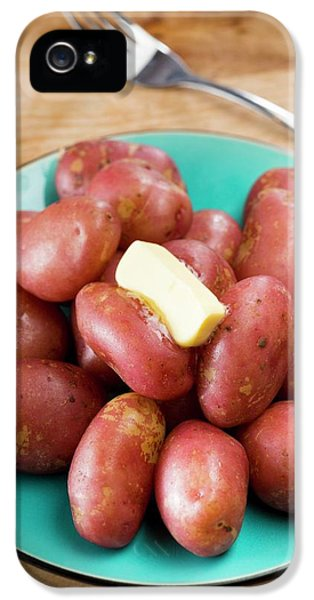 King Edward Potatoes On A Plate IPhone 5s Case
