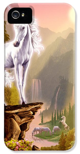 King Of The Valley IPhone 5s Case by Garry Walton
