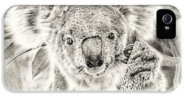 Koala Garage Girl IPhone 5s Case by Remrov