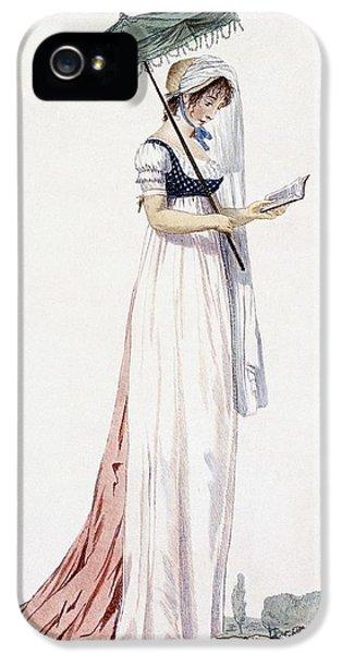 Ladies Elegant Summer Dress IPhone 5s Case by English School