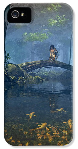 Lantern Bearer IPhone 5s Case by Cynthia Decker