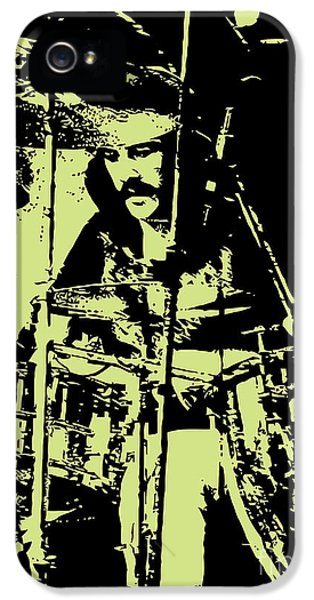 Drum iPhone 5s Case - Led Zeppelin No.05 by Geek N Rock