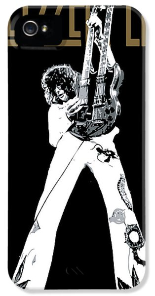 Led Zeppelin No.06 IPhone 5s Case by Caio Caldas
