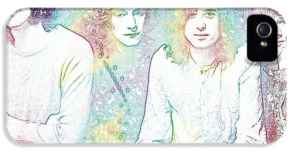 Led Zeppelin Tie Dye IPhone 5s Case