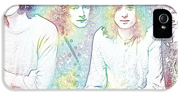 Led Zeppelin Tie Dye IPhone 5s Case by Dan Sproul