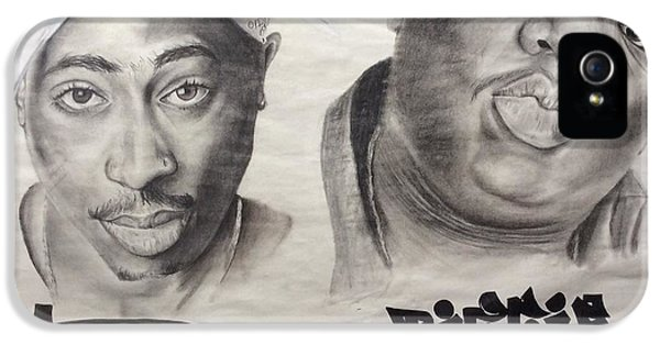 Biggie iPhone 5s Case - Legends by Ashley Williams