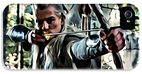 Legolas IPhone 5s Case by Florian Rodarte