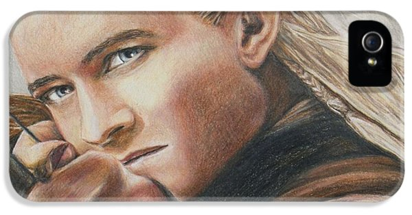 Legolas / Orlando Bloom IPhone 5s Case by Christine Jepsen