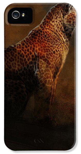 Leopard iPhone 5s Case - Leopard Portrait by Aaron Blaise