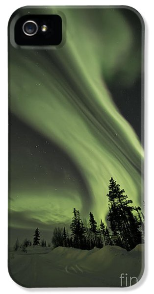 Light Swirls Over The Midnight Dome IPhone 5s Case