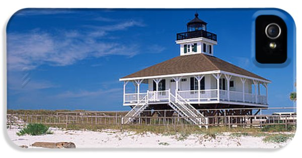 Florida State iPhone 5s Case - Lighthouse On The Beach, Port Boca by Panoramic Images
