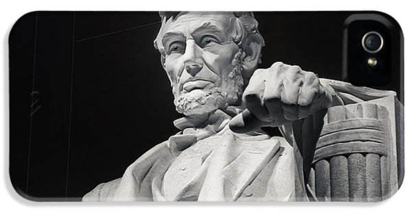 Lincoln Memorial iPhone 5s Case - Lincoln by Joan Carroll