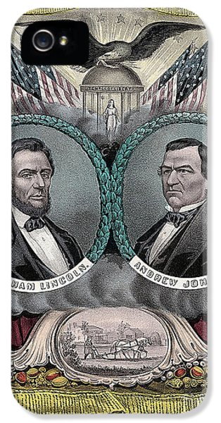 Lincoln Johnson Campaign Poster IPhone 5s Case