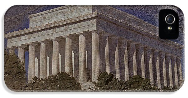 Whitehouse iPhone 5s Case - Lincoln Memorial by Skip Willits