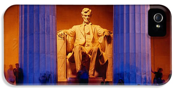 Lincoln Memorial, Washington Dc IPhone 5s Case by Panoramic Images