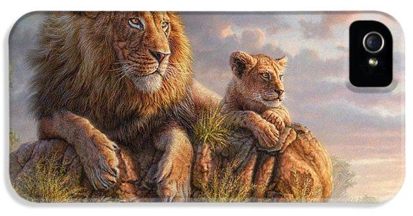 Lion iPhone 5s Case - Lion Pride by Phil Jaeger