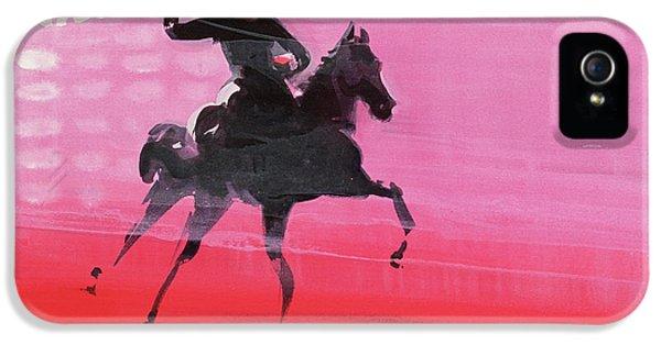 Horse iPhone 5s Case - Lobby by Susie Hamilton