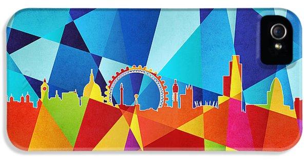 London England Skyline IPhone 5s Case by Michael Tompsett