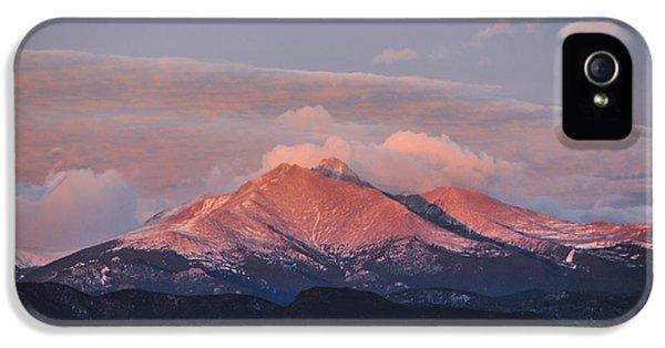 Longs Peak Sunrise IPhone 5s Case by Aaron Spong