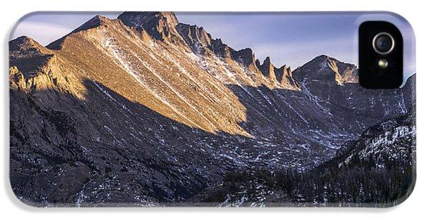 Longs Peak Sunset IPhone 5s Case by Aaron Spong