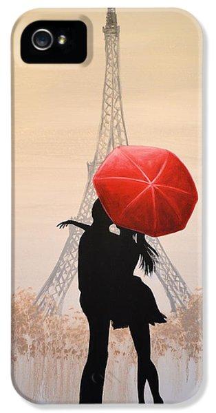 Love In Paris IPhone 5s Case