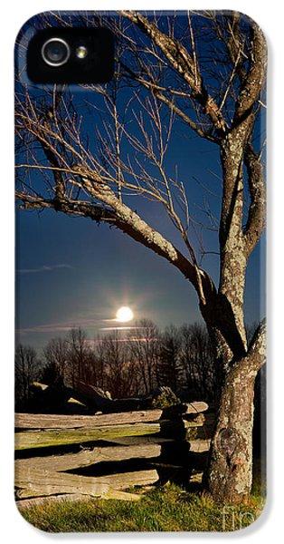 Lunar Landing - Blue Ridge Parkway IPhone 5s Case by Dan Carmichael