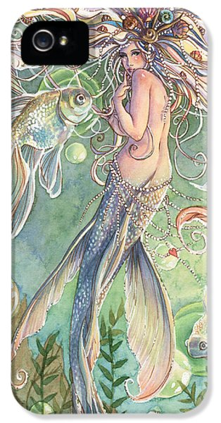 Fairy iPhone 5s Case - Lusinga by Sara Burrier