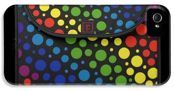 Colorful iPhone 5s Case - #macbook #cover #rainbow #awesome by Mandy Shupp