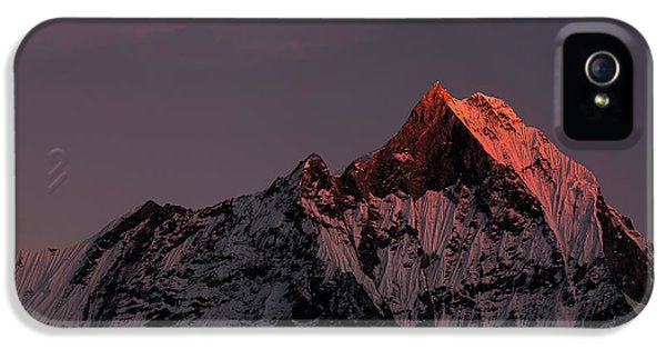 Machhapuchhare. Machapuchare IPhone 5s Case