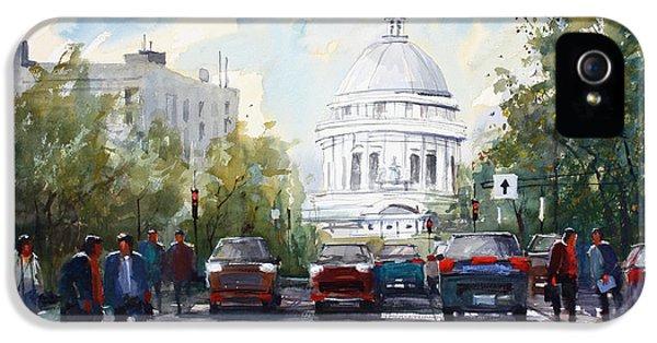 Madison - Capitol IPhone 5s Case by Ryan Radke