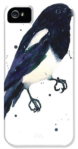 Magpie Painting IPhone 5s Case