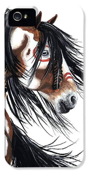 Horse iPhone 5s Case - Majestic Pinto Horse by AmyLyn Bihrle