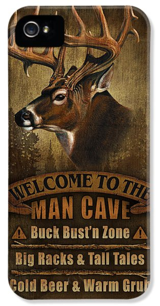 Man Cave Deer IPhone 5s Case