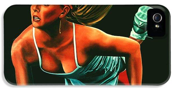 Maria Sharapova  IPhone 5s Case by Paul Meijering