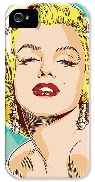 Marilyn Monroe Pop Art IPhone 5s Case by Jim Zahniser