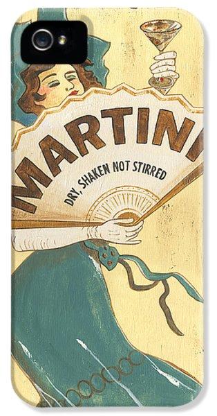 Martini Dry IPhone 5s Case by Debbie DeWitt