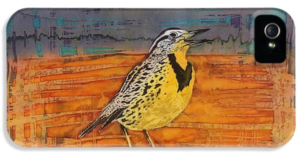 Meadowlark iPhone 5s Case - Meadows Song by Carolyn Doe