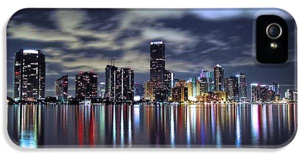 Miami Skyline IPhone 5s Case