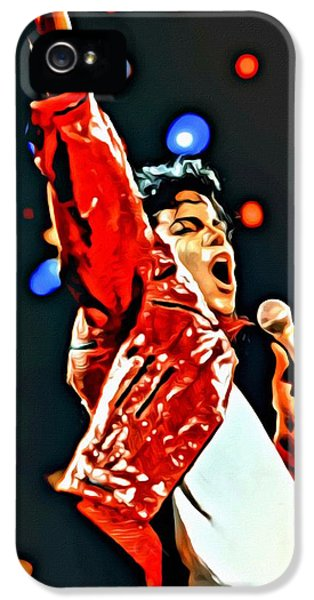 Michael IPhone 5s Case by Florian Rodarte