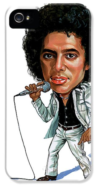 Michael Jackson IPhone 5s Case by Art