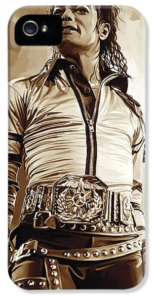 Michael Jackson Artwork 2 IPhone 5s Case