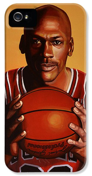 Wizard iPhone 5s Case - Michael Jordan 2 by Paul Meijering
