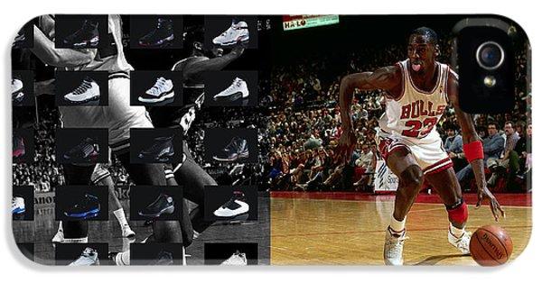 Michael Jordan Shoes IPhone 5s Case by Joe Hamilton