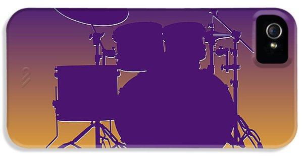 Minnesota Vikings Drum Set IPhone 5s Case by Joe Hamilton