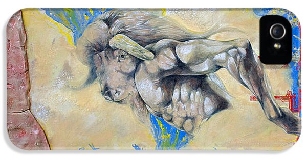 Minotaur iPhone 5s Case - Minotaur by Derrick Higgins