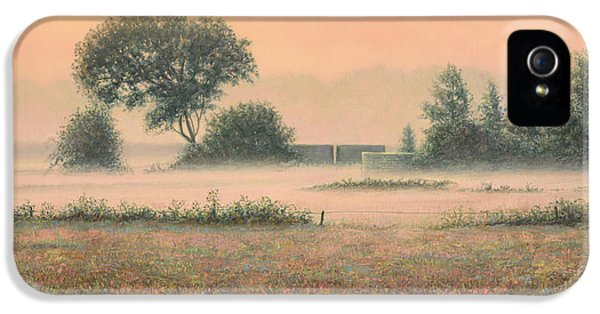 Misty Morning IPhone 5s Case by James W Johnson